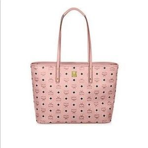 MCM Anya Top-Zipper Tote purse 👜 (large)